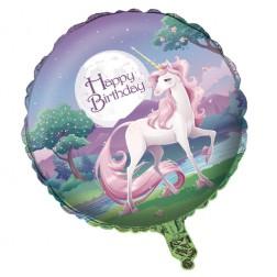Folienballon Unicorn Fantasy 45cm