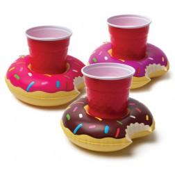 Schwimmringe für Getränke Donut 3 Stück