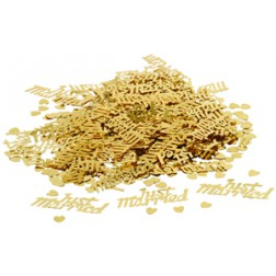 Just Married Gold Konfetti 14g