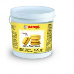 Macaron Backmischung in gelb 500g
