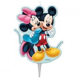 Mickey Minnie Kerzen 8cm