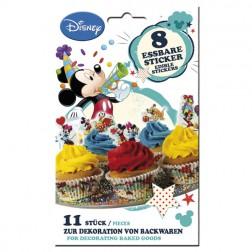 Essbare Mikey Minnie Zucker 8 Sticker