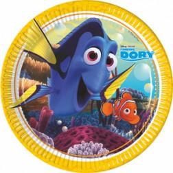 Finding Dory Nemo Pappteller 8 Stück