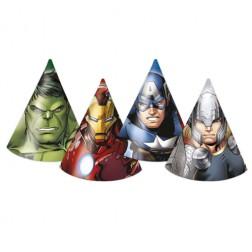 Avengers Multi Heroes Hüte 6 Stück