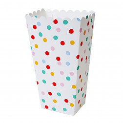 Popcorn Boxen Polka Dot 8 Stück