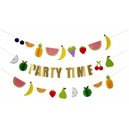 Fruit Party Time Girlande