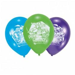 Luftballon Teenage Mutant Ninja Turtles 6 Stück