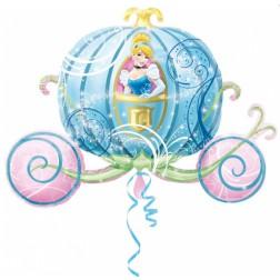 Cinderella Kutsche Folienballon 83cm
