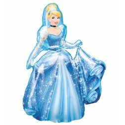 Cinderella Air Walkers Folienballon 121cm