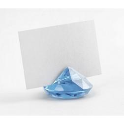 Diamond Tisch Platzhalter blau 10 Stück