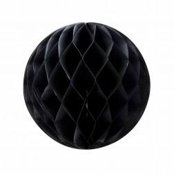 Wabenball Schwarz 25cm