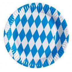 Oktoberfest Pappteller 8 Stück