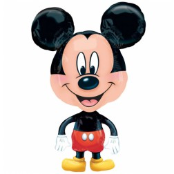 Air Walkers Folienballon Mickey Mouse klein 76cm