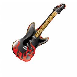 Folienballon Rock on Gitarre 99cm