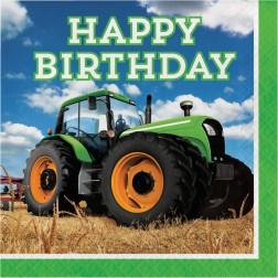 Servietten Traktor 16 Stück