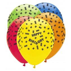 Luftballons Block Party 6 Stück