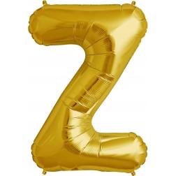 Folienballon Buchstabe Z gold 86cm