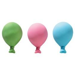 Pastel Ballon Zuckerdekor 3 Stück
