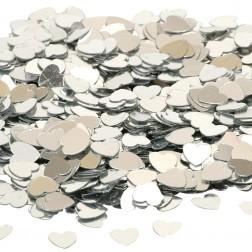 Konfetti Silber Herz 14g