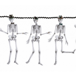 Girlande Skeleton 3m