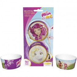 Cupcake Formen Mia and Me 50 Stück