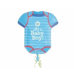 Folienballon Body it s a Baby boy 60cm