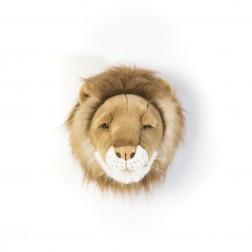 Plüsch Tierkopf Trophäe Löwe Cesar