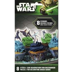 Essbare Star Wars Zucker 9 Sticker