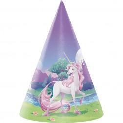Unicorn Fantasy Hüte 8 Stück