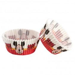 Cupcake Formen Mickey Mouse 50 Stück