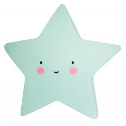 Mini Nachtlicht Stern Star Light mint