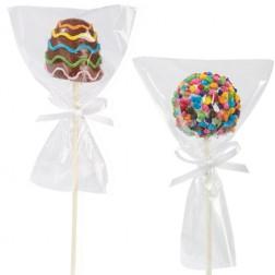 Cake Pop Set Tüte mit Band 12 Stück