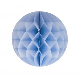 Wabenball Pastellblau 25cm