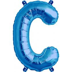 Air Folienballon Buchstabe C blau 41cm