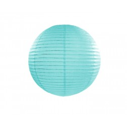 Lampion Tiffany blue 25cm