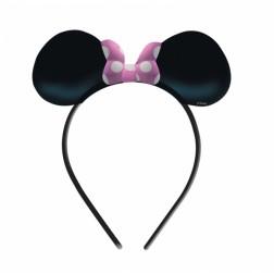 Minnie Mouse Haarreif rosa 4 Stück