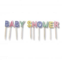 Baby Shower Kerzen