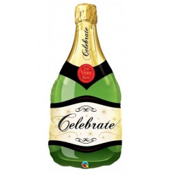 Folienballon Champagne Flasche 102cm