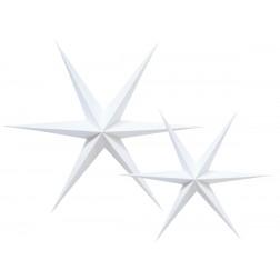Sterne weiß 2 Stück