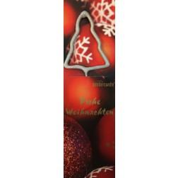 Wunderkerze Weihnachtsbaum silber