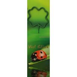 Wunderkerze Kleeblatt grün