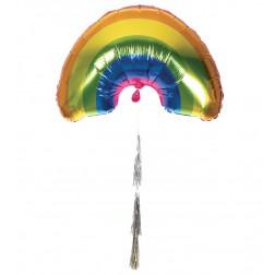 Folienballon Regenbogen Rainbow kit