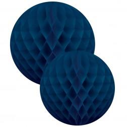 Wabenbälle Blau 2 Stück