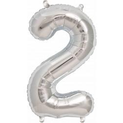 Folien Ballon - Silber Nr 2