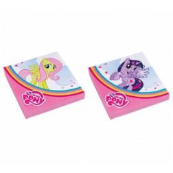 Servietten My Little Pony Rainbow 20 Stück