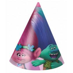 Hüte Trolls 6 Stück