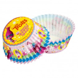 Cupcake Formen Trolls 50 Stück