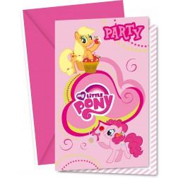 My Little Pony Einladungskarten 6Stück