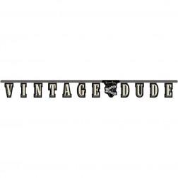Banner Vintage Dude 2,67m