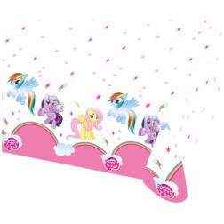 Rainbow Pony Tischdecke 180cm